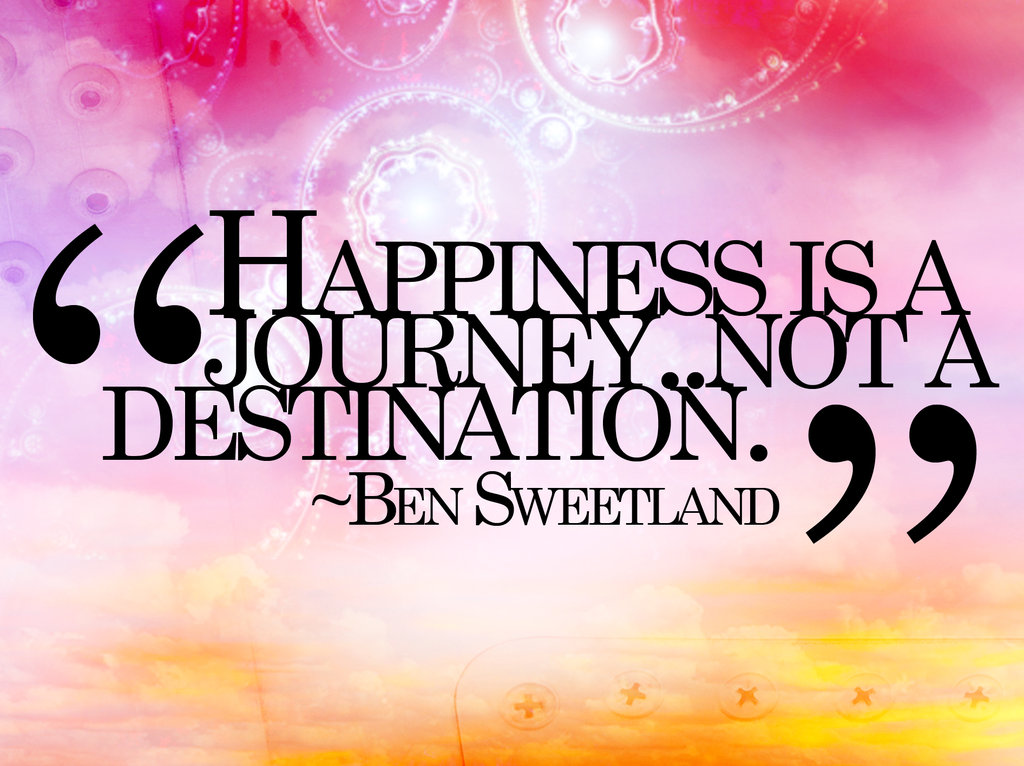 Happiness Quote by ~ cho-oka