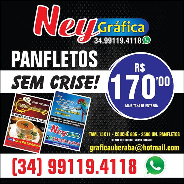 PANFLETOS NEY GRAFICA