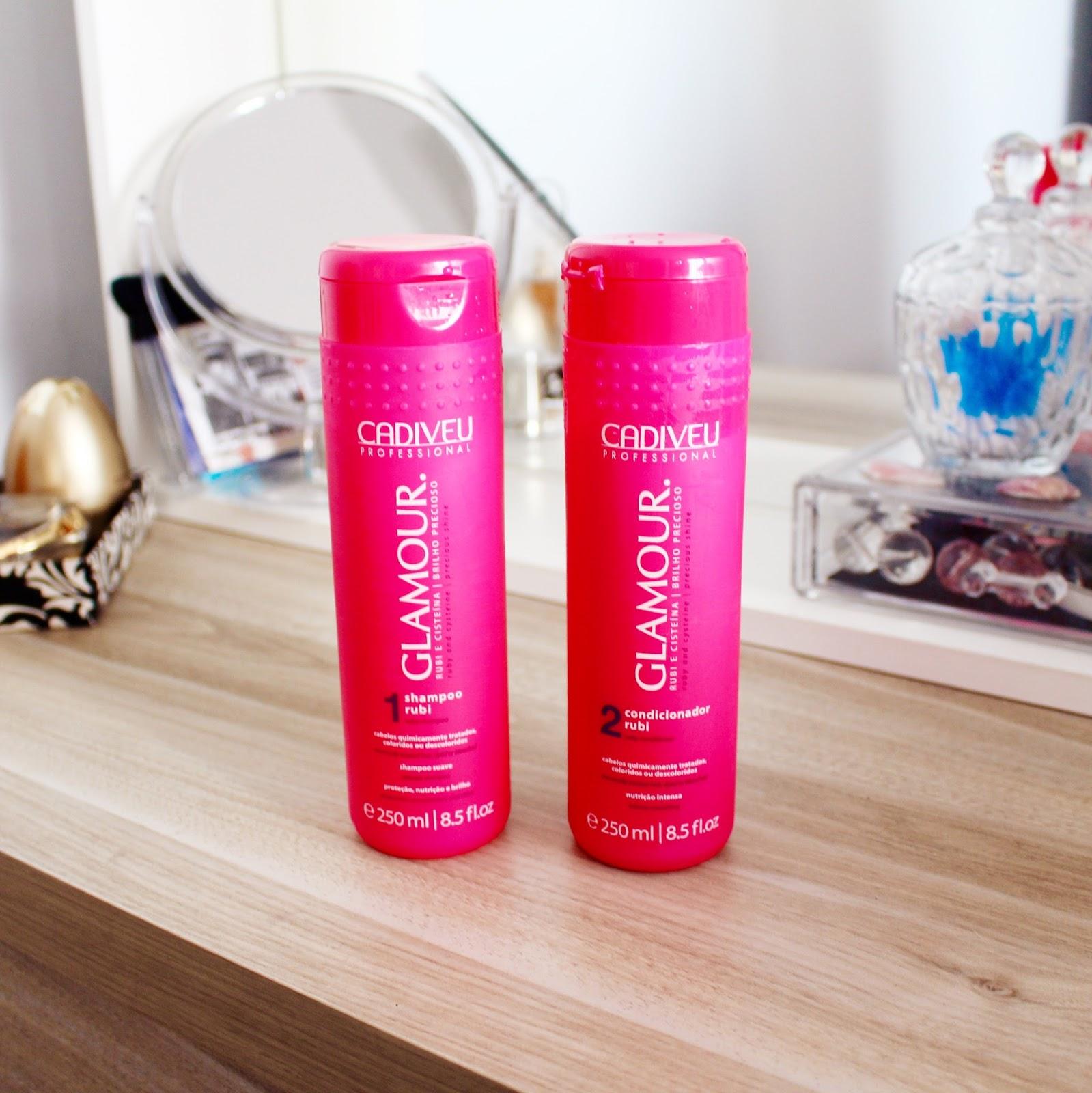 shampoo e condicionador da Cadiveu