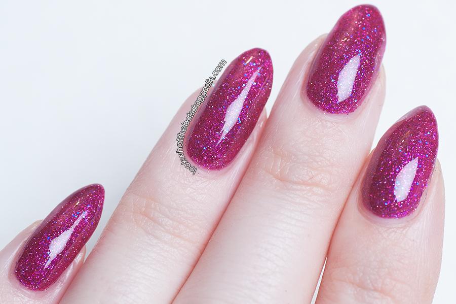 Moonstone Nail Polish Butterflies and Hurricanes nail polish swatch