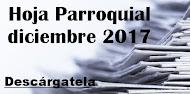 Hoja Parroquial diciembre 2017