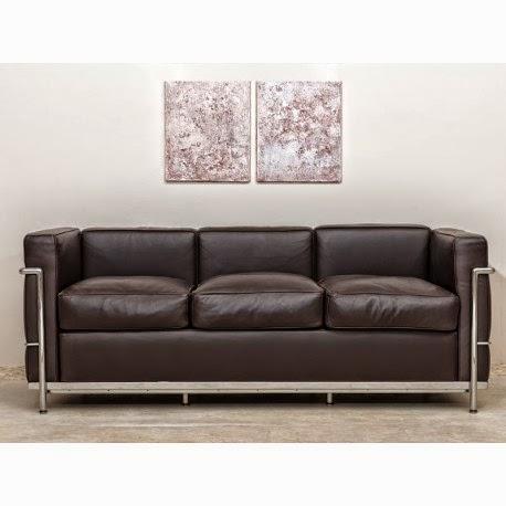 Tapízame...: Muebles ilustres:LC2 de Le Corbusier