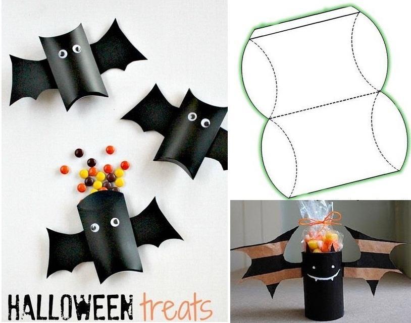 Fika a Dika Por um Mundo Melhor Halloween Ideias # Decoração De Halloween Com Materiais Reciclados