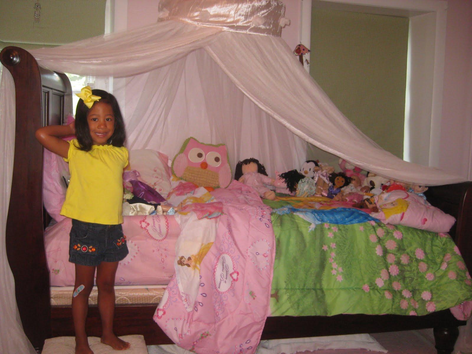 Life With Ruby Big Girl Bed Little Girl Nightmares