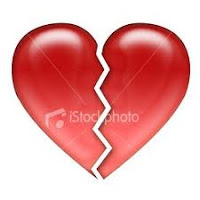 cinta, broken heart