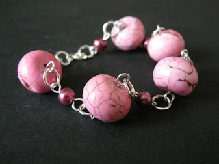 biżuteria z półfabrykatow - bransoletka