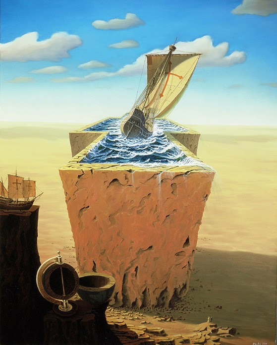 06-Jürgen-Geier-Ships-and-Maritime-Surreal-Paintings-www-designstack-co
