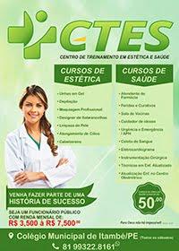 CTES CENTRO DE TREINAMENTO<br>EM ESTÉTICA E SAÚDE