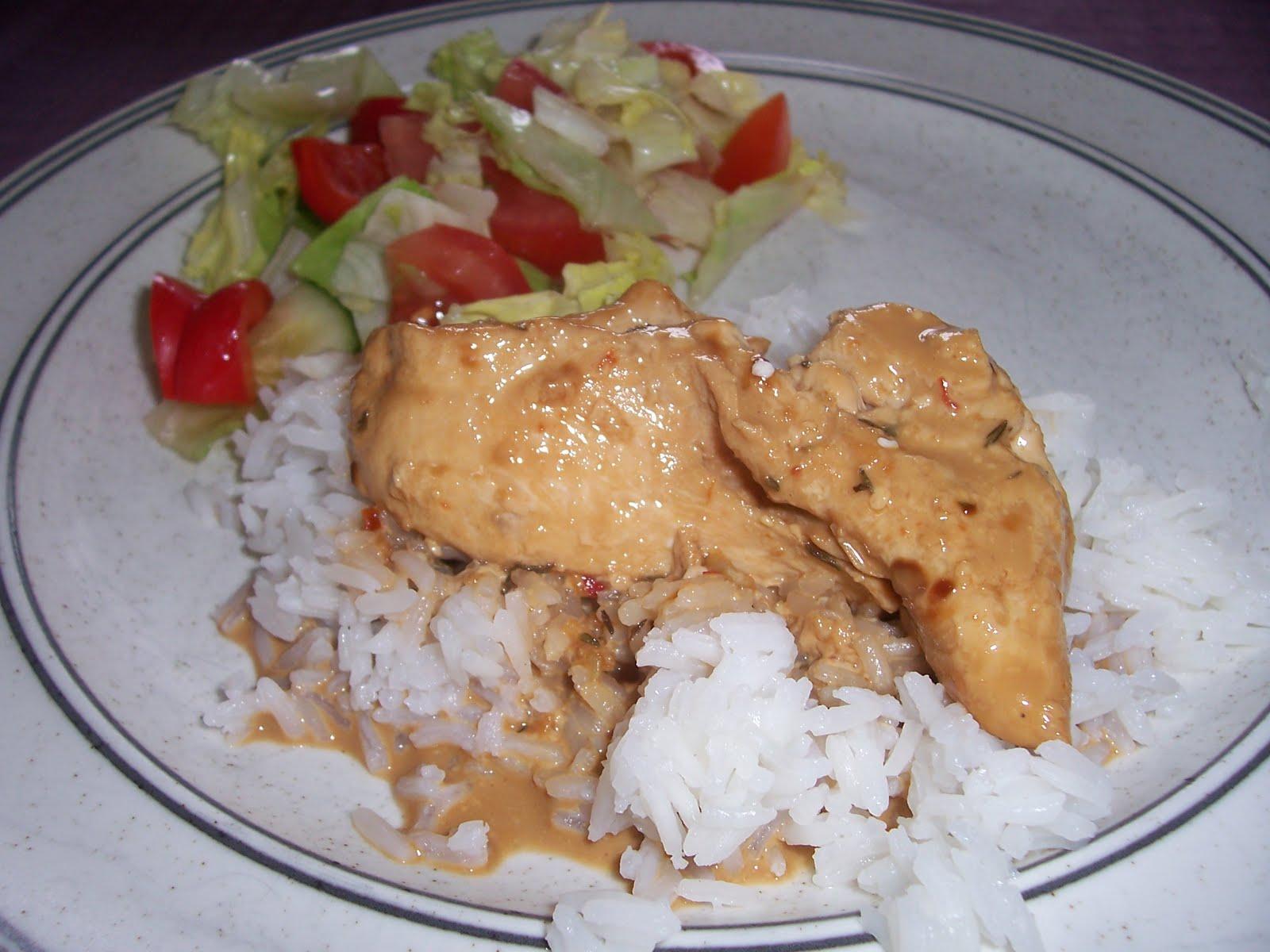 recept kycklingfilé creme fraiche