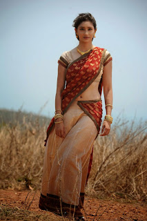 Tanvi Vyas in Half Saree Lovely Beauty Songs Stills