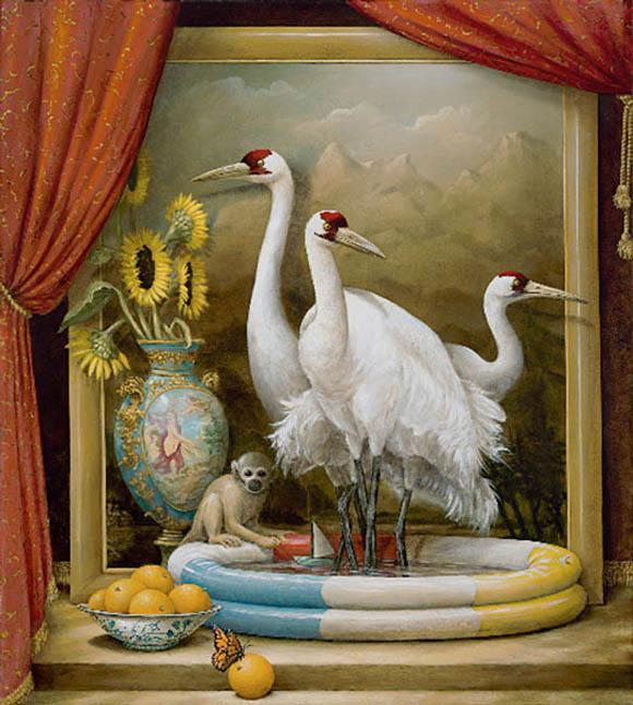 kevin sloan allegorical realism paintings