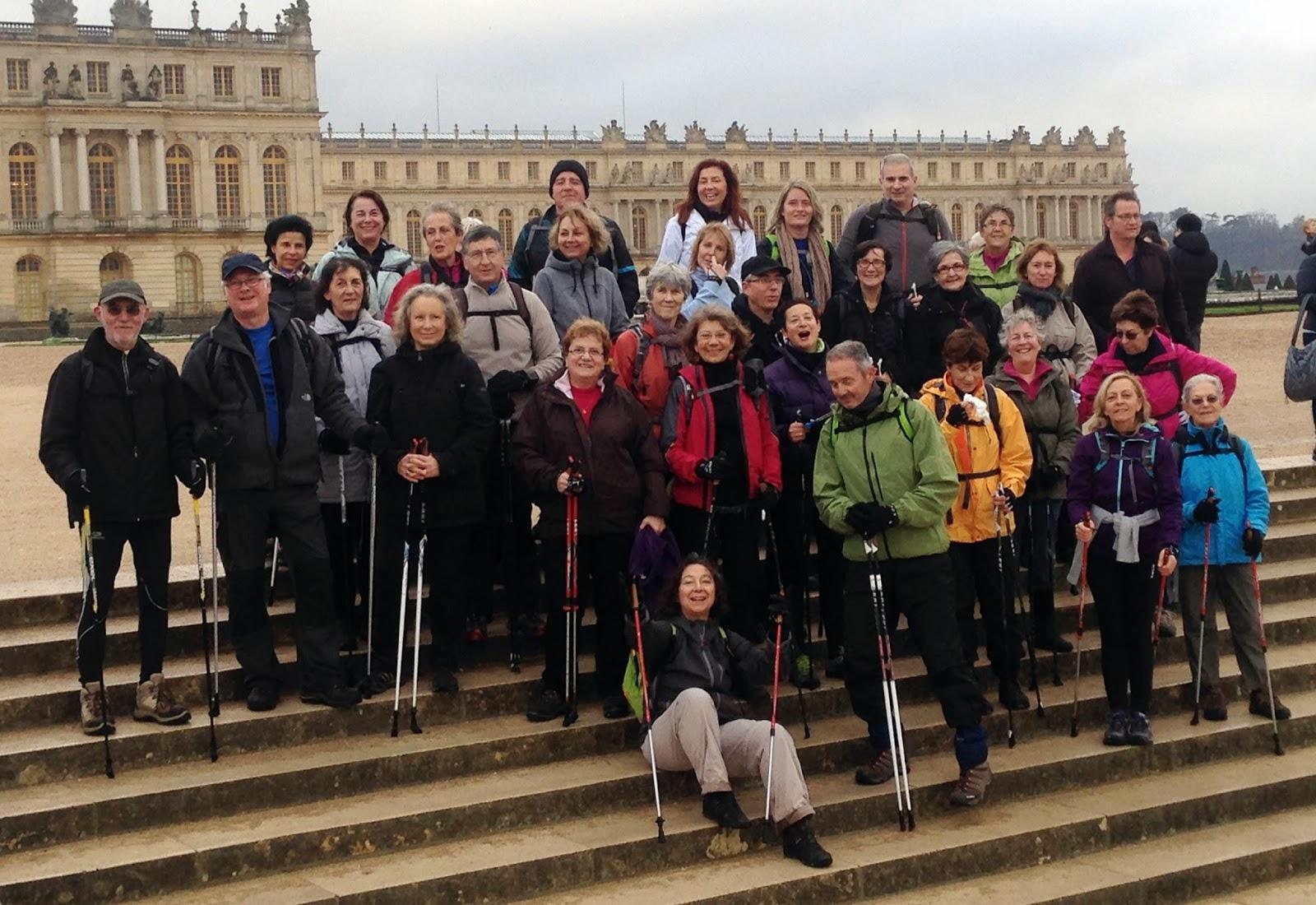Marche Nordique à Versailles