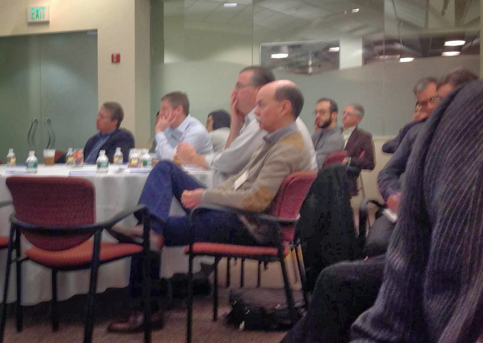 brady urology at johns hopkins hospital 2014 theodore deweese and alan partin listen to presentations during the research updates