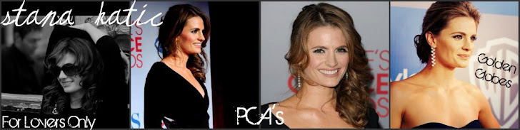 Stana is GORGEOUS.