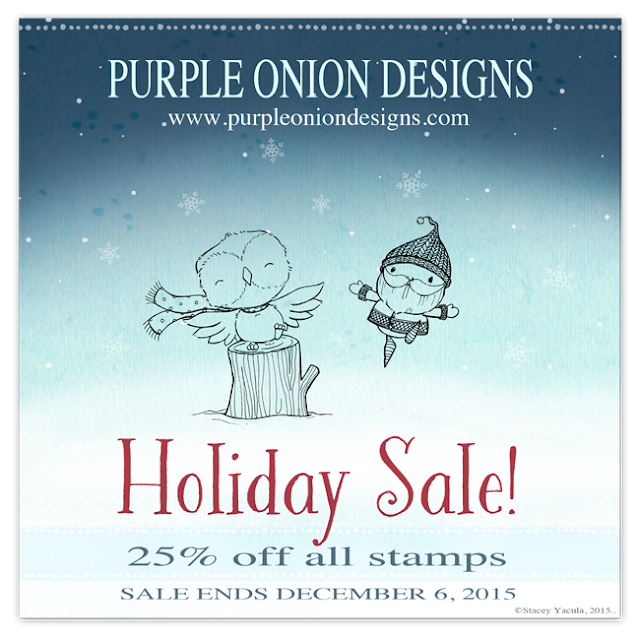 Stamp, rubber stamp, purple onion design, sale