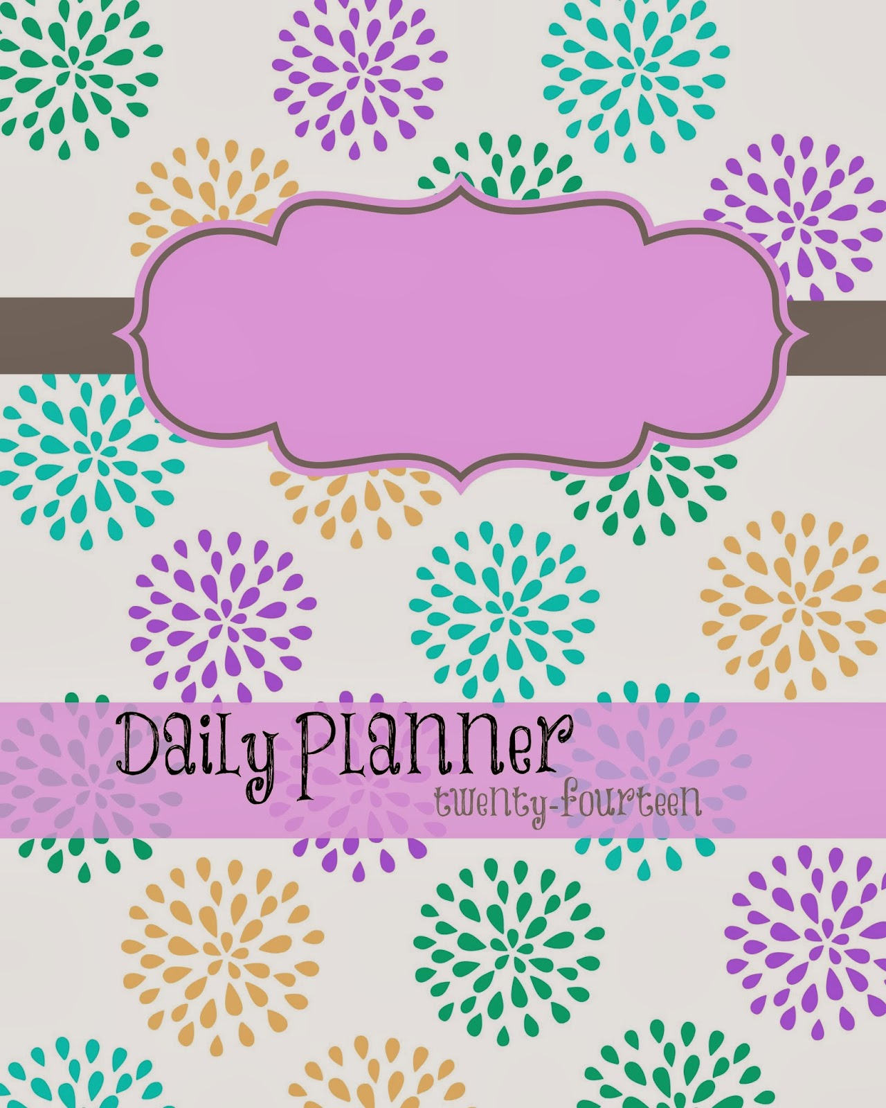 Calendar Planner Cover : Free printable planner busy mom s helper