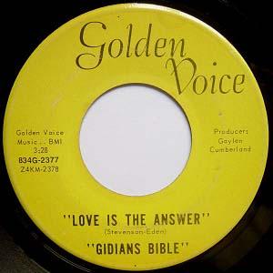Gidians Bible