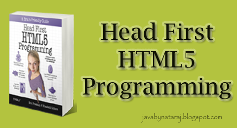 Head First HTML5 Programming eBook Download_JavabynataraJ