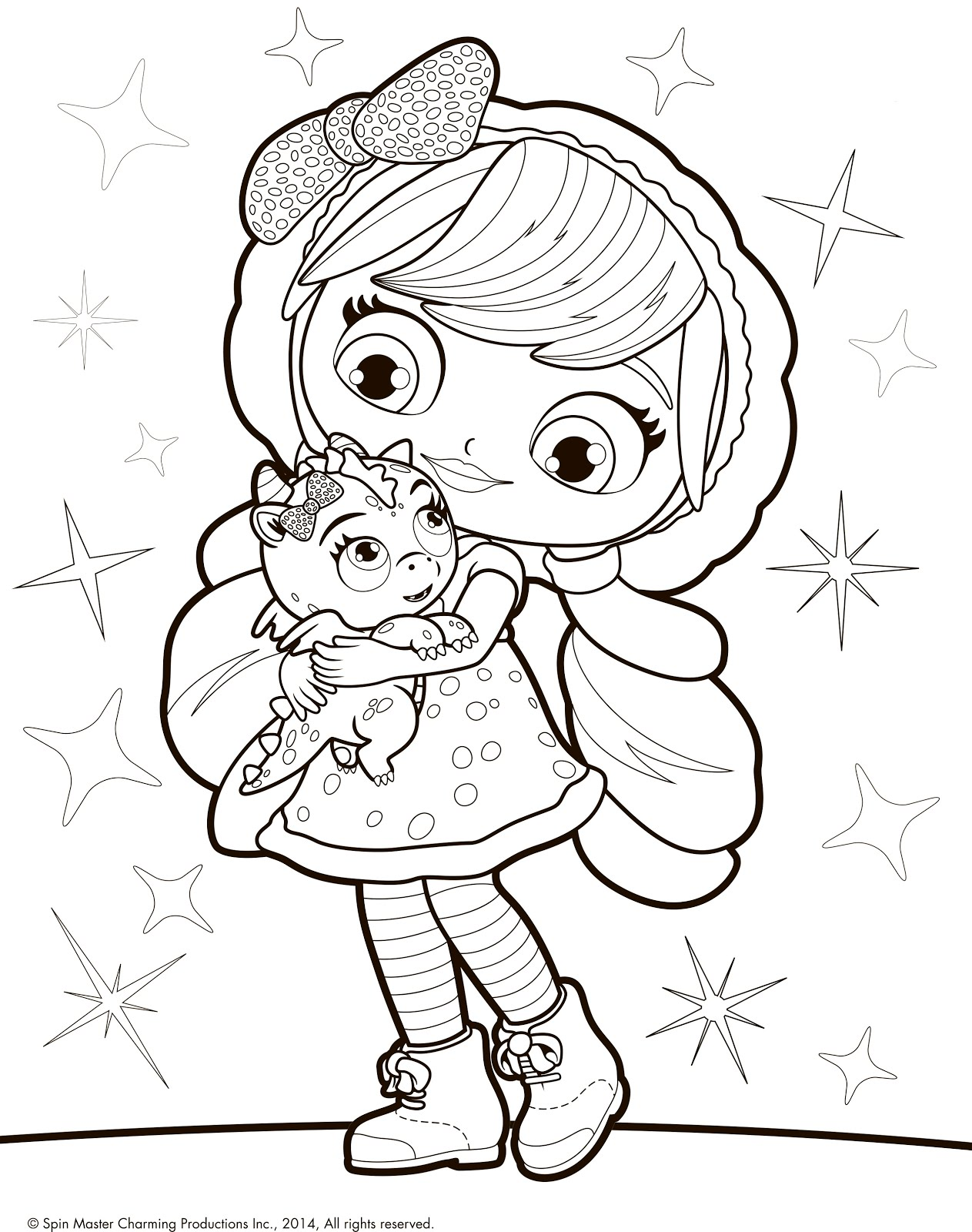 little charmers coloring pages printable - photo#20