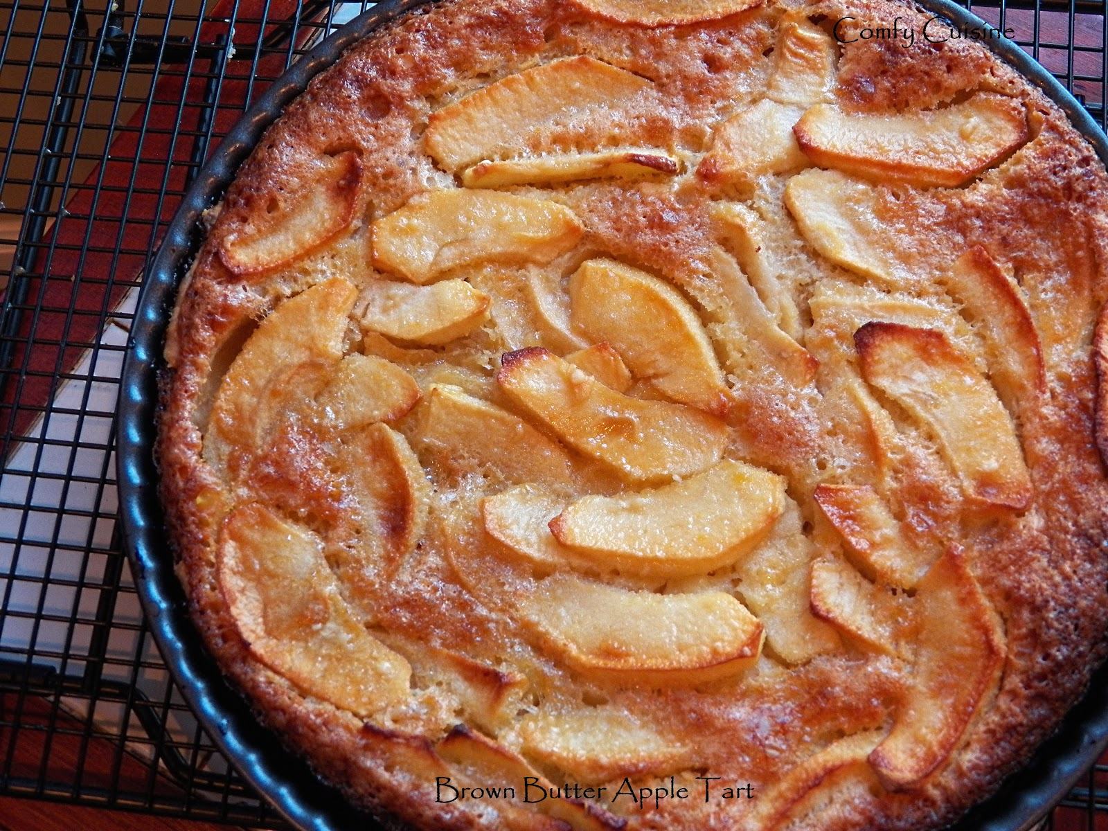 Comfy Cuisine: Brown Butter Apple Tart