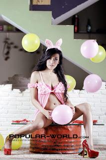 hot Tika Suhartono for Popular World February 2013
