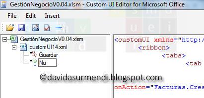 Cambio del ID de la imagen en el Custom UI Editor.