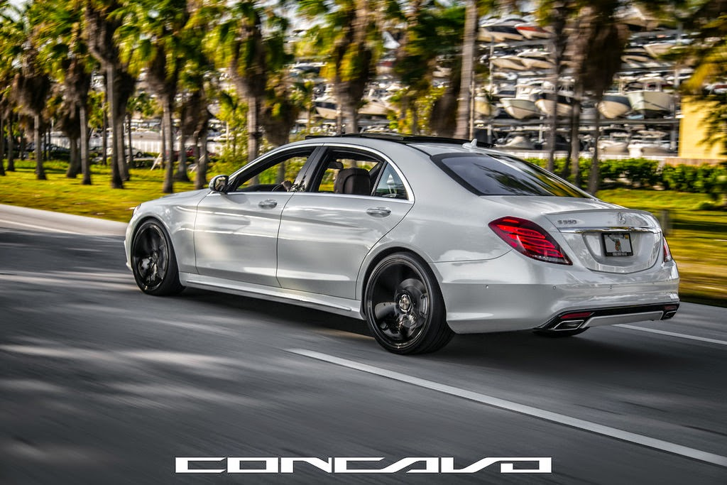 Mercedes benz w222 s550 on concavo wheels benztuning for Mercedes benz s550 rims
