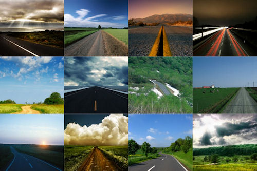 Fotografías de carreteras y caminos rurales I (12 imágenes)