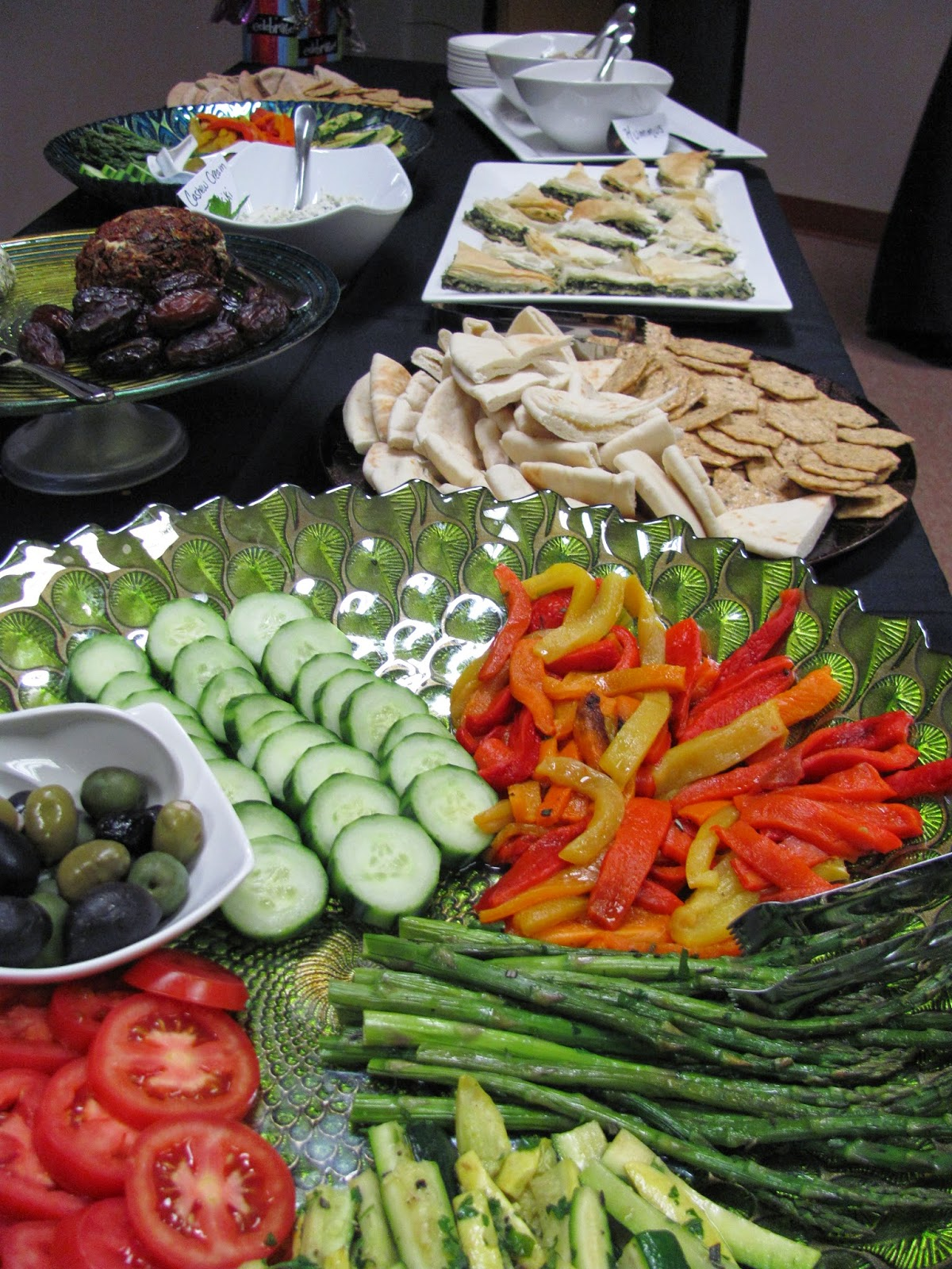 Mediterranean Antipasti and Mezze Platters