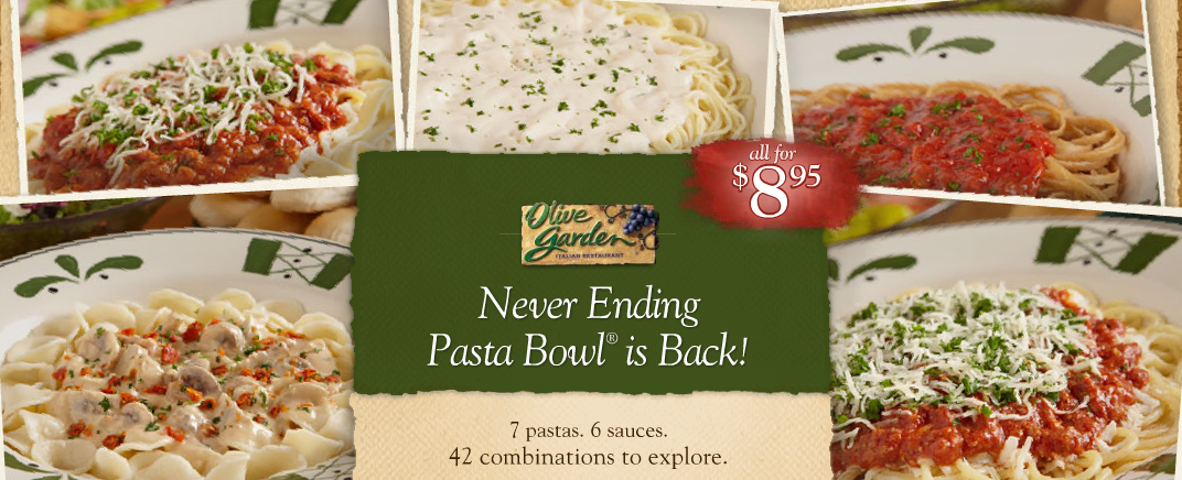 Livecontagiously Never Ending Pasta Bowl
