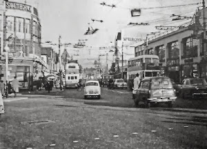 North End in the rush hour 1965