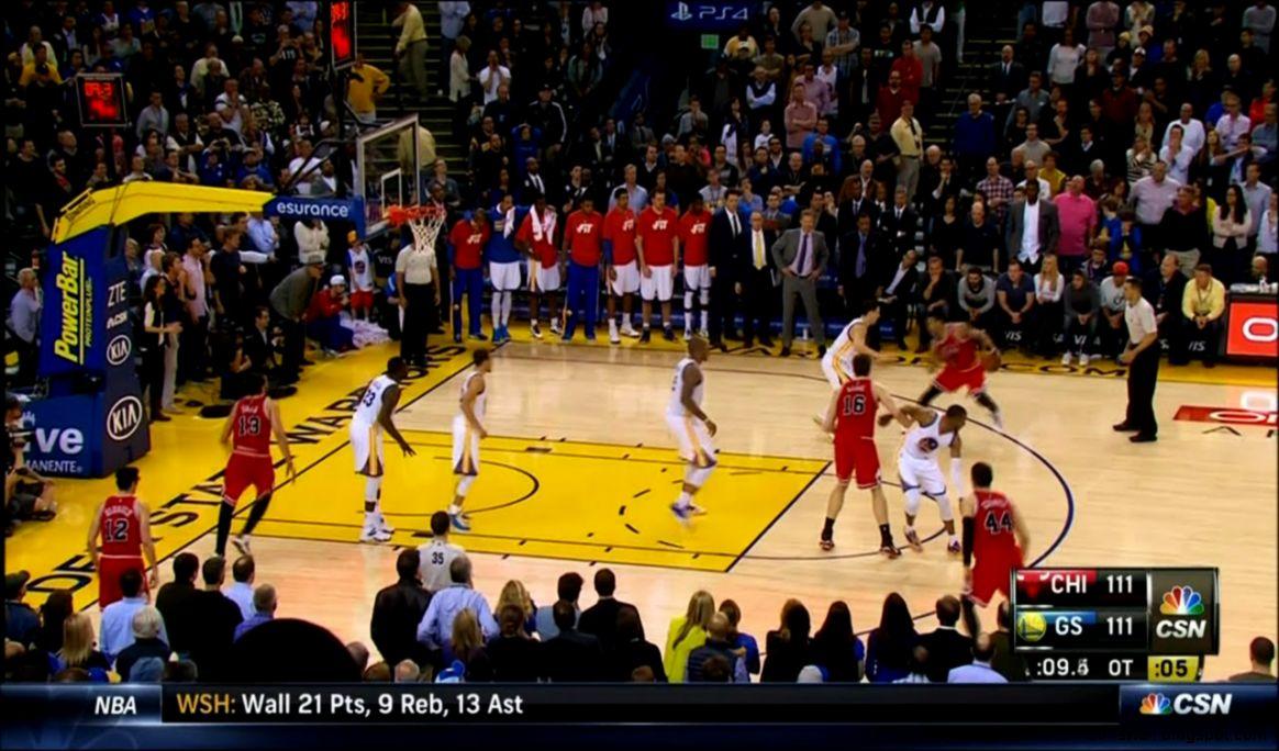 Derrick Rose Chicago Bulls vs Golden State Warriors Highlights