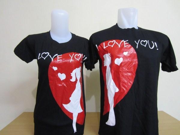 Model Kaos Couple Keren Terbaru