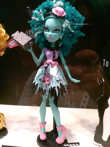 New Monster High Honey Swamp Doll