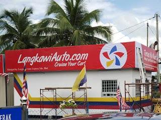 kaunter tiket Langkawi Auto Express di Kuala Perlis
