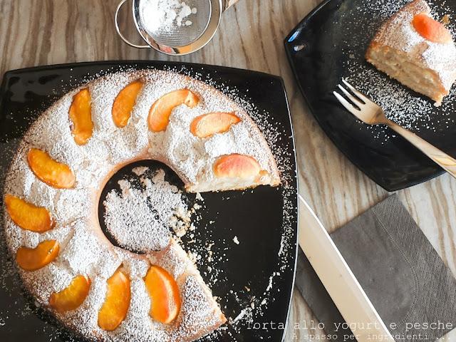 fresca, profumata e leggera. la torta per la colazione estiva