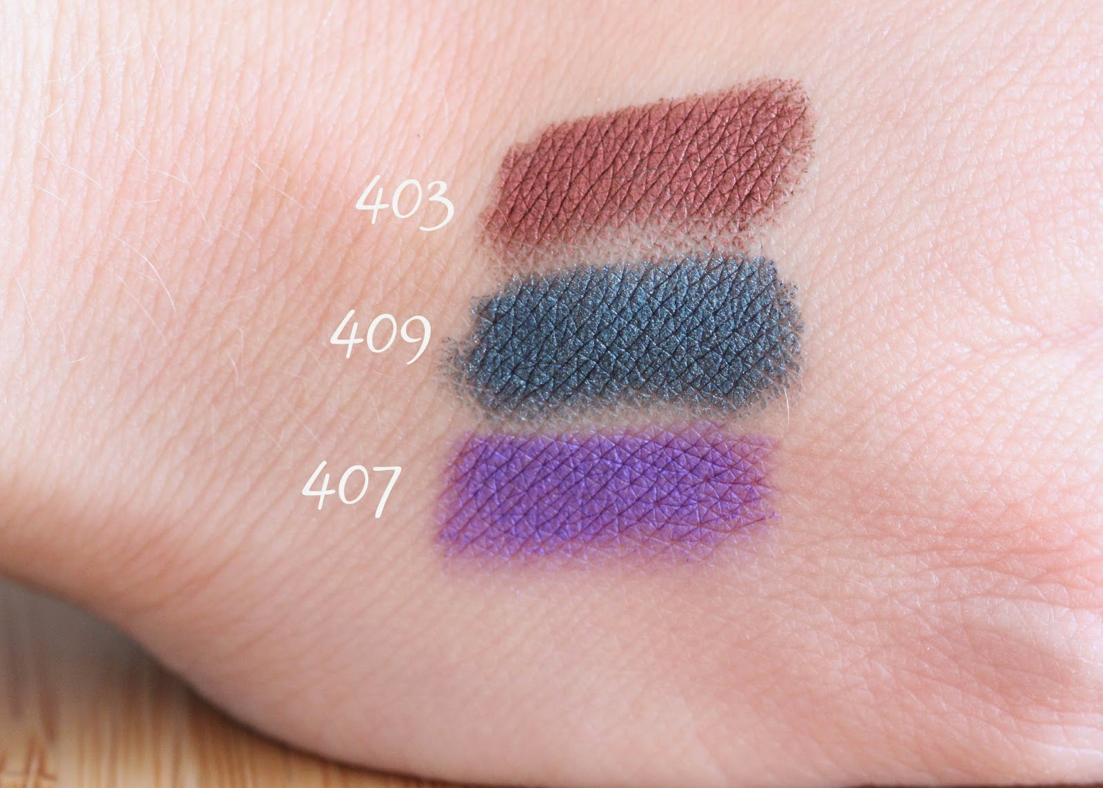 Kiko Glamorous Eye Pencil swatch and review