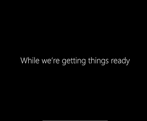 Windows 8 sudah terinstall