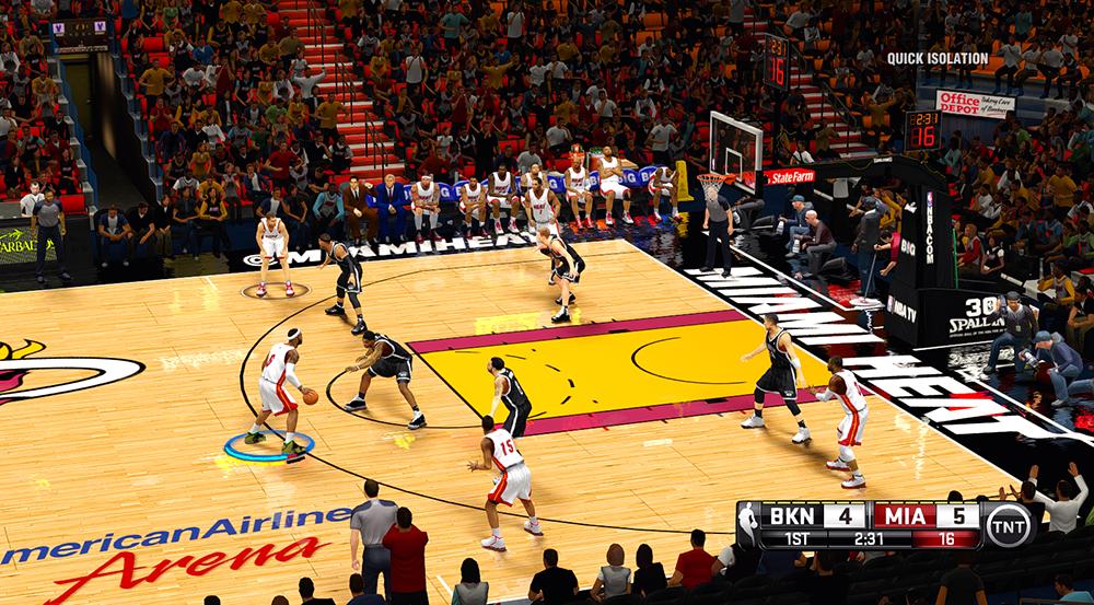 GUI HUD NBA 2K14 Mod