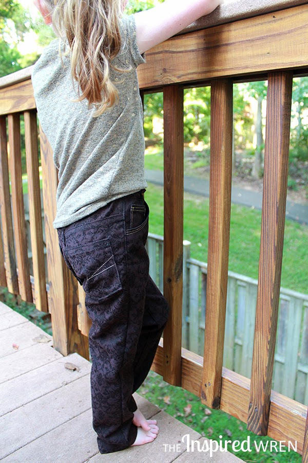Small Fry Skinny Jeans by Titchy Threads | The Inspired Wren