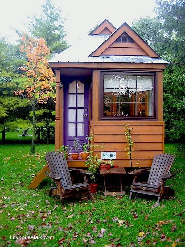 45 fachadas de casas peque as arquitectura de casas - Casa madera pequena ...