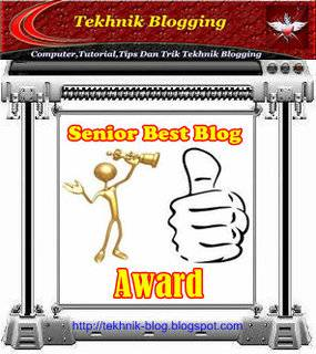Award 22  Tekhnik Blogging
