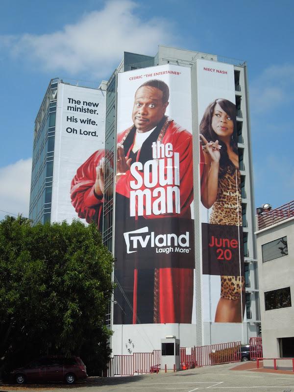 Giant Soul Man TV billboard