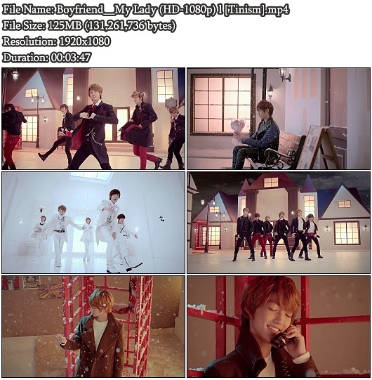Download PV Boyfriend - My Lady (冬の恋人) (Full HD 1080p)