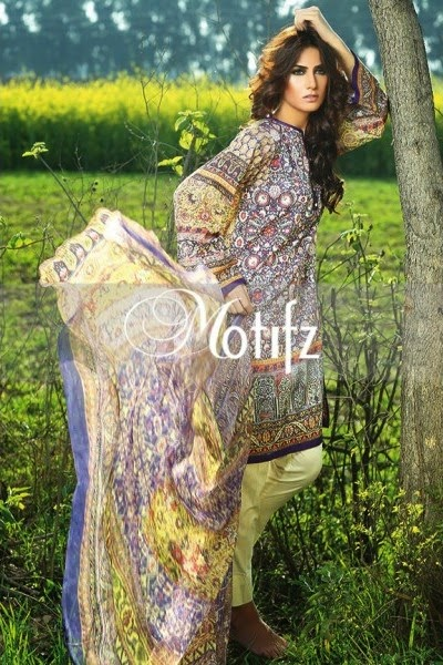 Motifz 2015 lawn collection