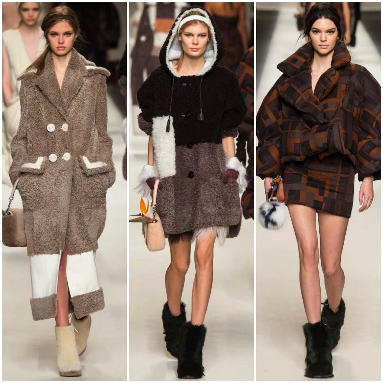 Milaan fashionweek Fendi