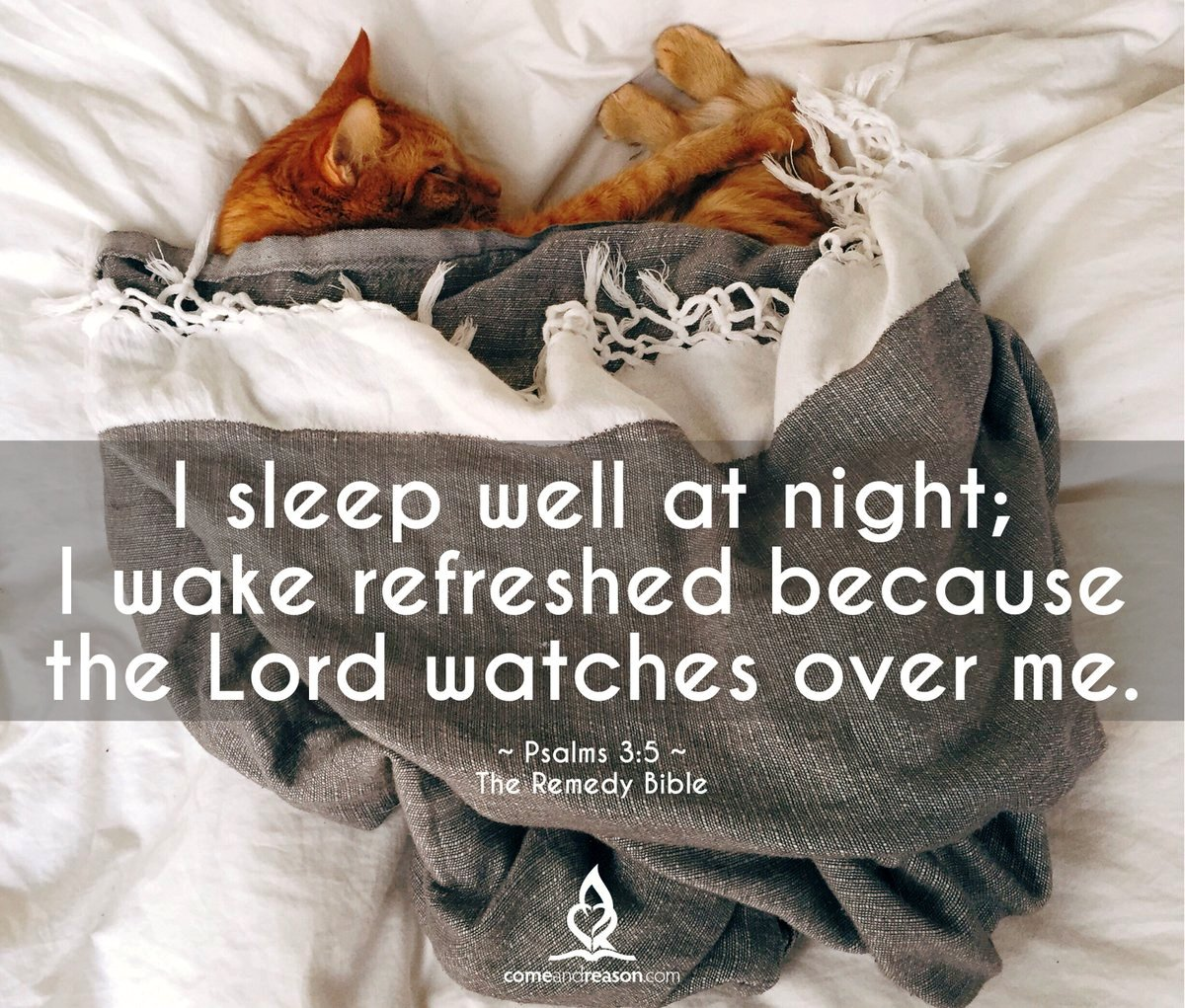 I Sleep Well At Night...