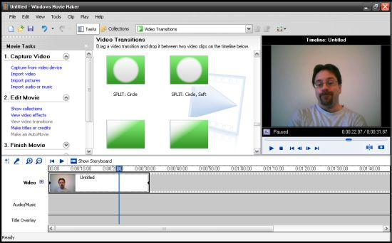 Download Windows Movie Maker 6.1 Build 7600 Full