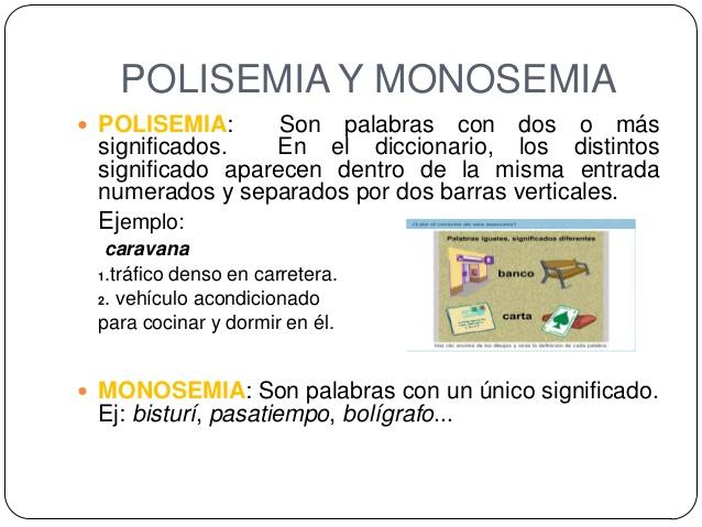 maestro san blas monosemia y polisemia