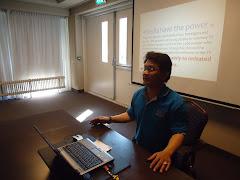 """นำเสนอบทความวิจัย """"Media and Information Literacy [MIL] for Thai Youths"""" เมืองนาเด้นท์ เนเธอแลนด์"""